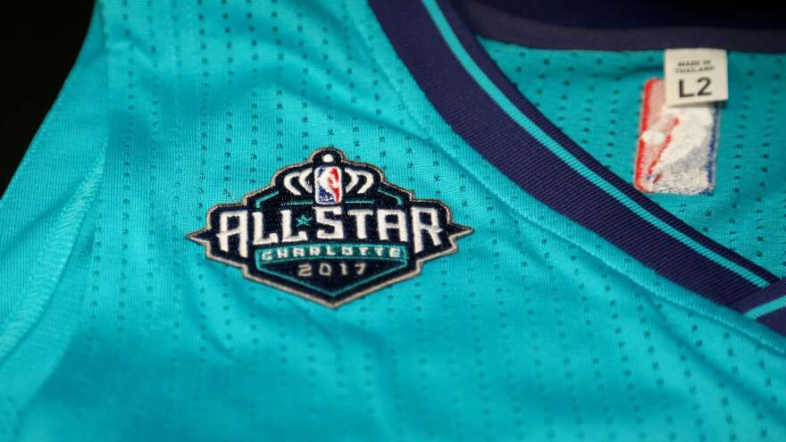 The NBA is relocating the 2017 All-Star Game from Charlotte, N.C., because of a state law that limits civil rights protections for LGBT people.