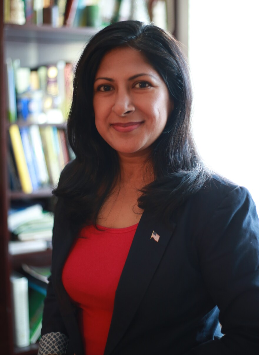 Farrah Khan ran for a seat on Irvine's city council in 2016.