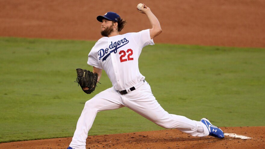 Winning LA pitcher Clayton Kershaw held the Astros to one run over seven innings in Game 1. He had relief help from Brandon Morrow and Kenley Jansen in the eighth and ninth innings.