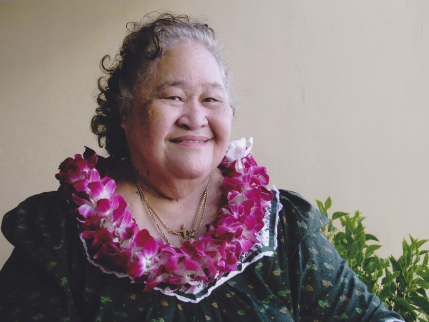 Gloria Marks, a Hansen's disease patient, has lived in Kalaupapa since 1960.