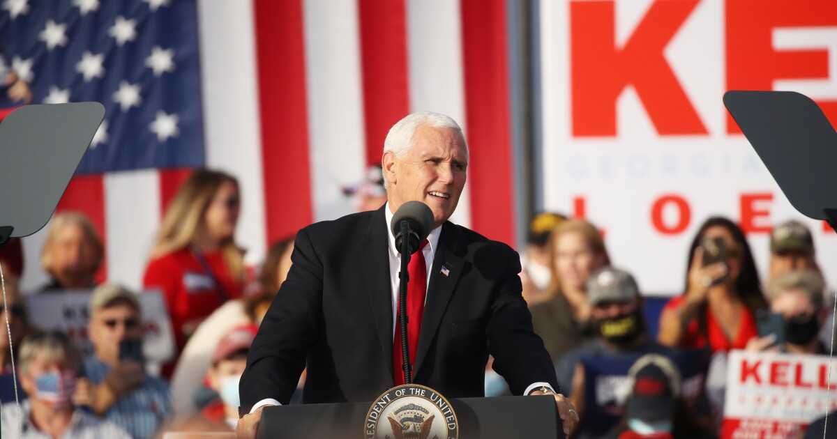 Vice President Pence To Get COVID-19 Vaccine Publicly On Friday