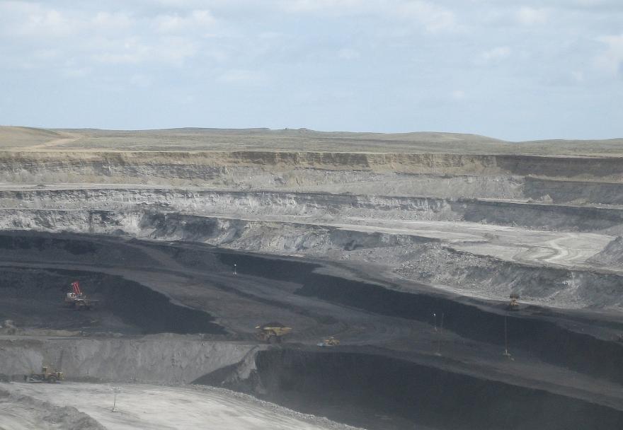A Powder River Basin coal mine
