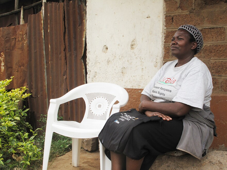 If you live near Helen Onyango, odds are she's knocked on your door and asked to take your blood pressure. The community health worker herself suffers from hypertension.