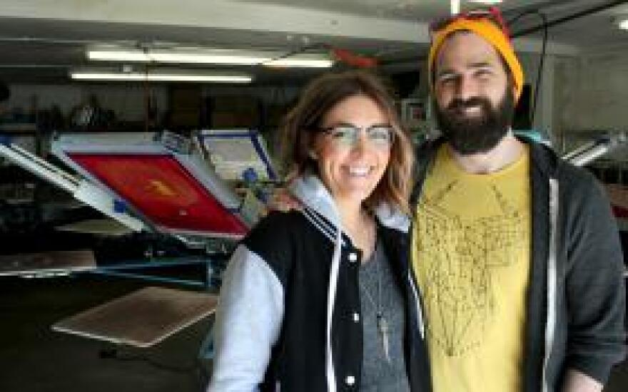 Shawna and Chais Meyer were raised in Kearney, Nebraska, where they started a T-shirt business.