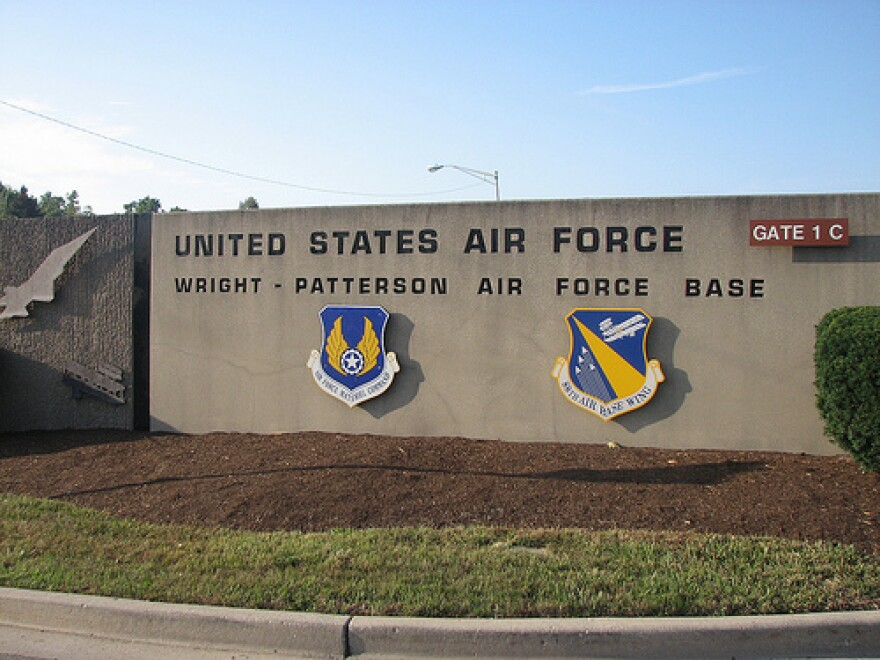 wright-patterson air force base gates