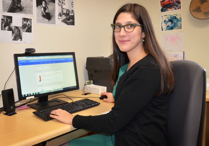 Amy Johnson, a PhD candidate in public health at the University of Illinois-Chicago, is working on a model to use Google searches to track the spread of sexually transmitted diseases in real time.