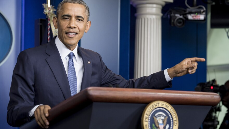 President Barack Obama upbraided Congress Friday, saying that lawmakers haven't done enough to help America's economic recovery.