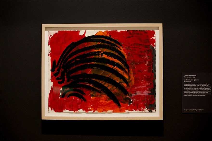 Lamerol A. Gatewood completed an untitled piece in 2002. The piece is now a part of the St. Louis Art Museum's exhibit. Oct. 9, 2019