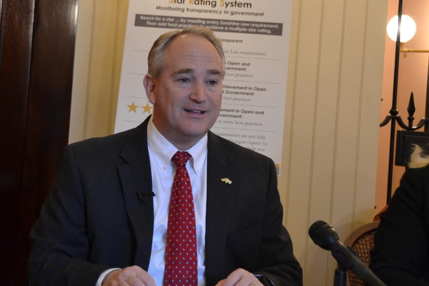 a photo of Ohio auditor Keith Faber
