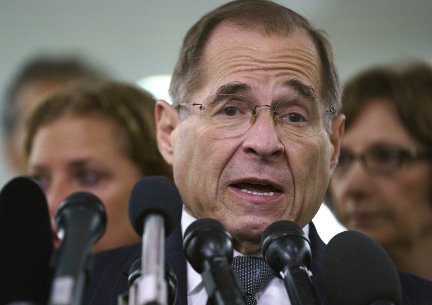 "Democratic leaders including Rep. Jerry Nadler of New York faulted the White House on Wednesday for what they called ""irresponsible"" lumping of dissimilar Chinese and Russian influence schemes."