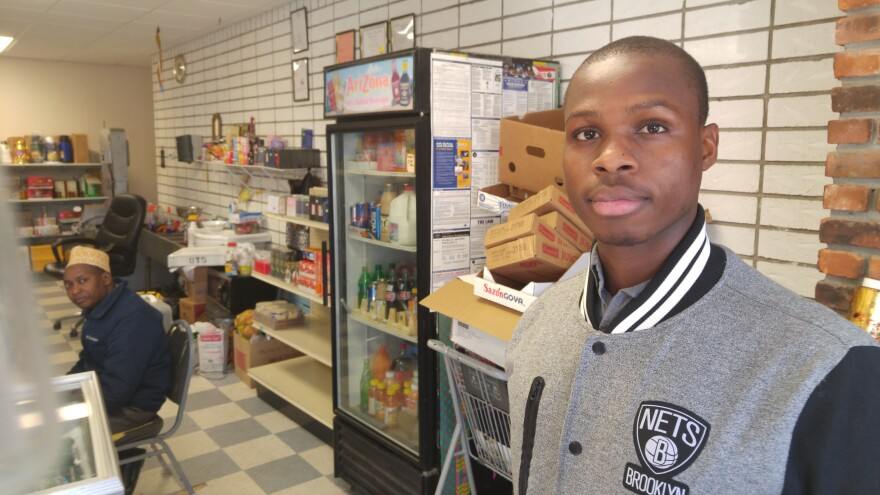 Mohamed Gabril, a refugee who became an American citizen, works at a Somali-owned grocery in Utica, N.Y. He's convinced the U.S. Constitution will protect him from any backlash under Donald Trump.