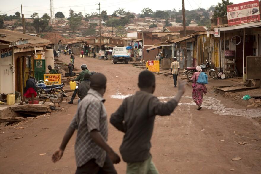 Katwe is a slum neighborhood in Uganda's capital city of Kampala.