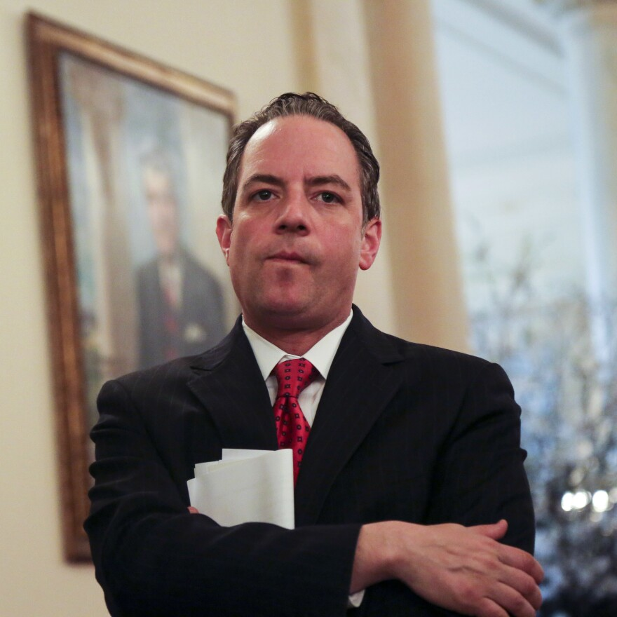 Then-White House Chief of Staff Reince Priebus in 2017. Priebus also resisted orders to fire Jeff Sessions.