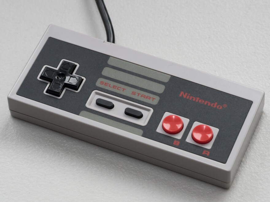 "Players would enter up, up, down, down, left, right, left, right, B, A and Start on a controller to activate the ""Konami code."" It was first used in the game Gradius, but later made famous on Nintendo with Contra."