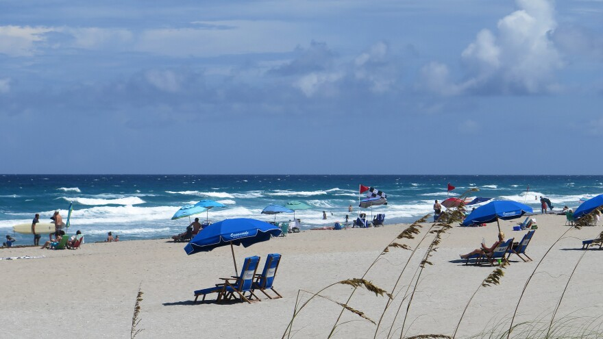 The surf and sand views of Delray Beach, Fla., draw residential drug recovery programs, as wells as tourists.