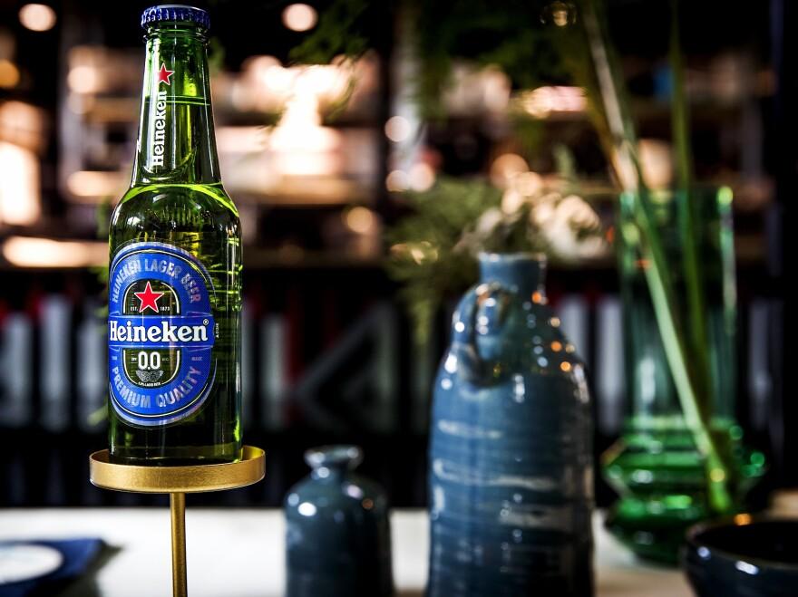 One near-beer pioneer is Heineken, which launched alcohol-free Heineken 0.0 this summer in Europe and Israel.
