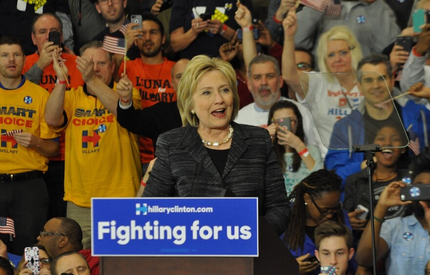 Hillary Clinton in Cleveland