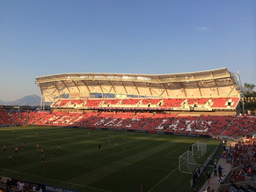 Photo of the stadium