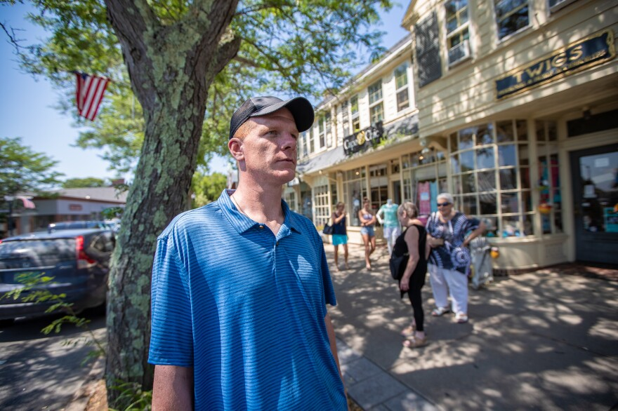 Mike Leslie, in Falmouth, Mass., no longer uses any drugs to get high. But he says that of all the opioids and stimulants he has used, meth wrecked his life so fast that he hardly knew what was happening.