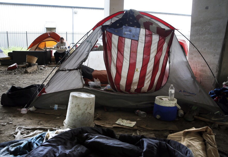 2016 Dallas Homeless Camp