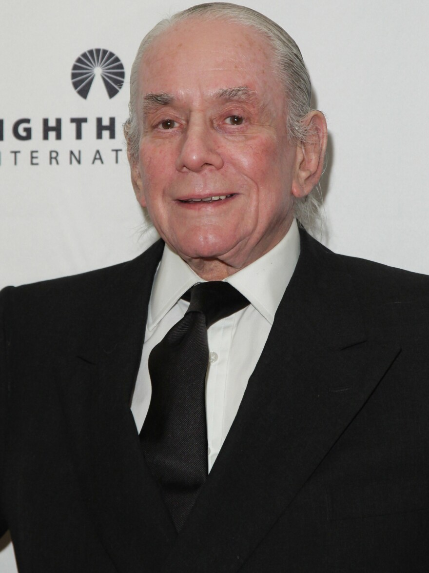 Designer Kenneth Jay Lane, shown in 2010, designed costume jewelry for Hollywood stars, Jackie Kennedy Onassis and viewers of TV's shopping channel QVC.