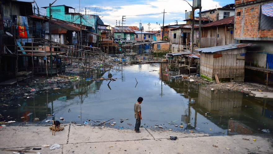 The citizens of Iquitos, Peru, have limited access to medical procedures, partly due to the fact that Iquitos is inaccessible by car.
