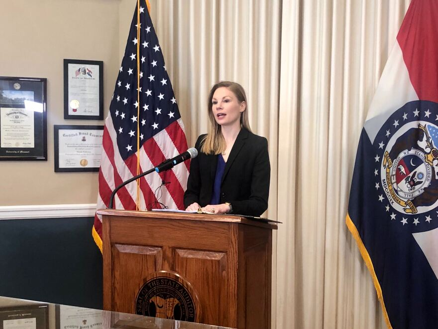 Missouri Auditor Nicole Galloway on Thursday announced the results of her audit of the former state Attorney General Josh Hawley's office. Hawley is now U.S. Senator. 2/6/20
