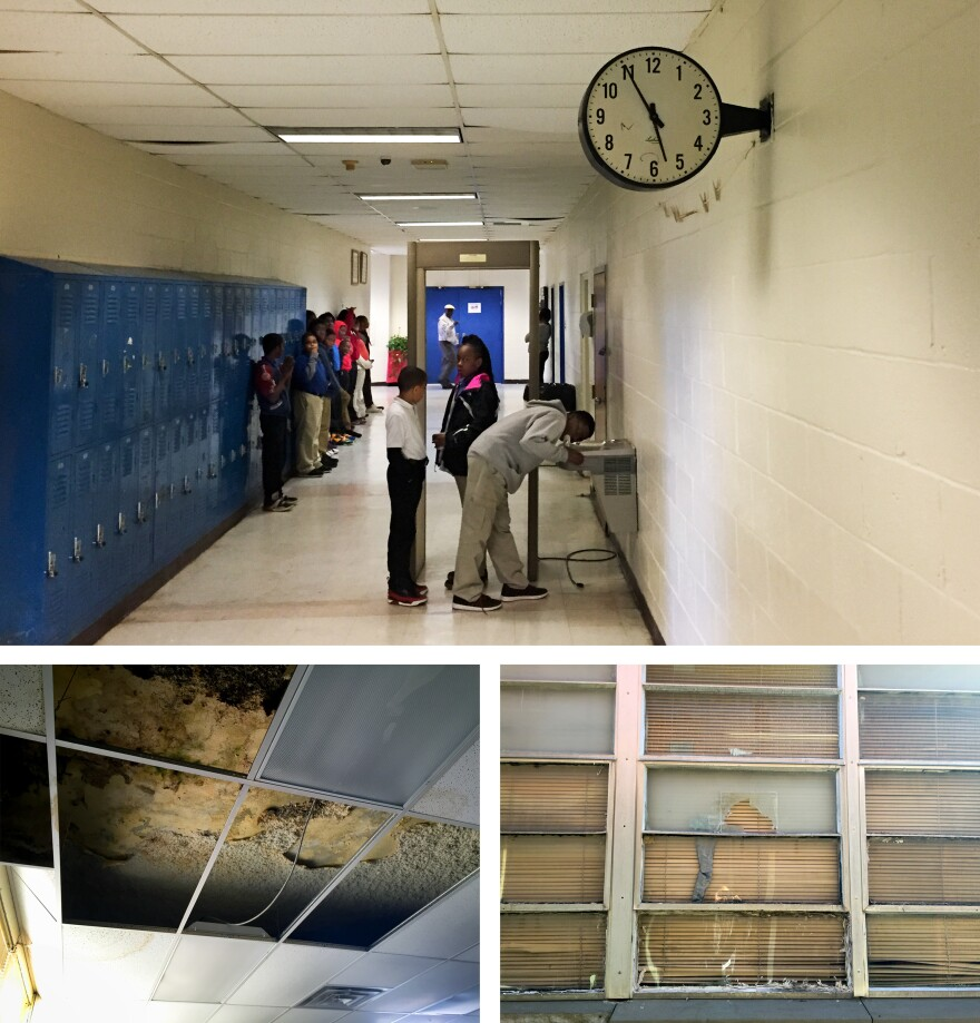 Inside Livingston Junior High School in Sumter County, Ala. The state does not send extra dollars to districts that serve low-income kids.