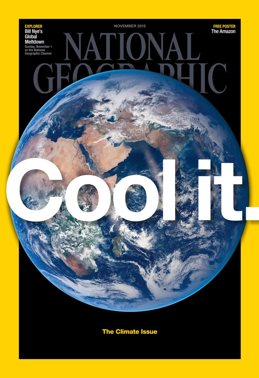 National Geographic cover, November 2015.