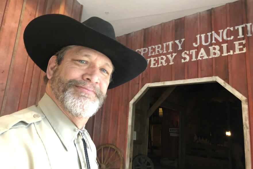 """Tim Tiller, the head of security at the National Cowboy and Western Heritage Museum in Oklahoma City, was tapped last month to take over the museum's social media accounts during the pandemic. He says he was """"brand new"""" to social media."""
