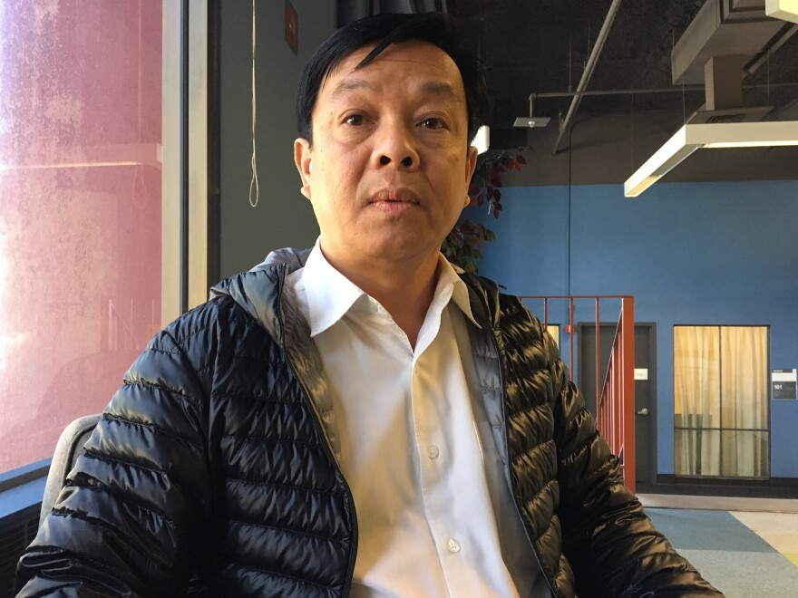 Hank Nguyen is being laid off from his IT job at the University of California San Francisco. Now Nguyen and several dozen other employees at UCSF are training their outsourced replacements.