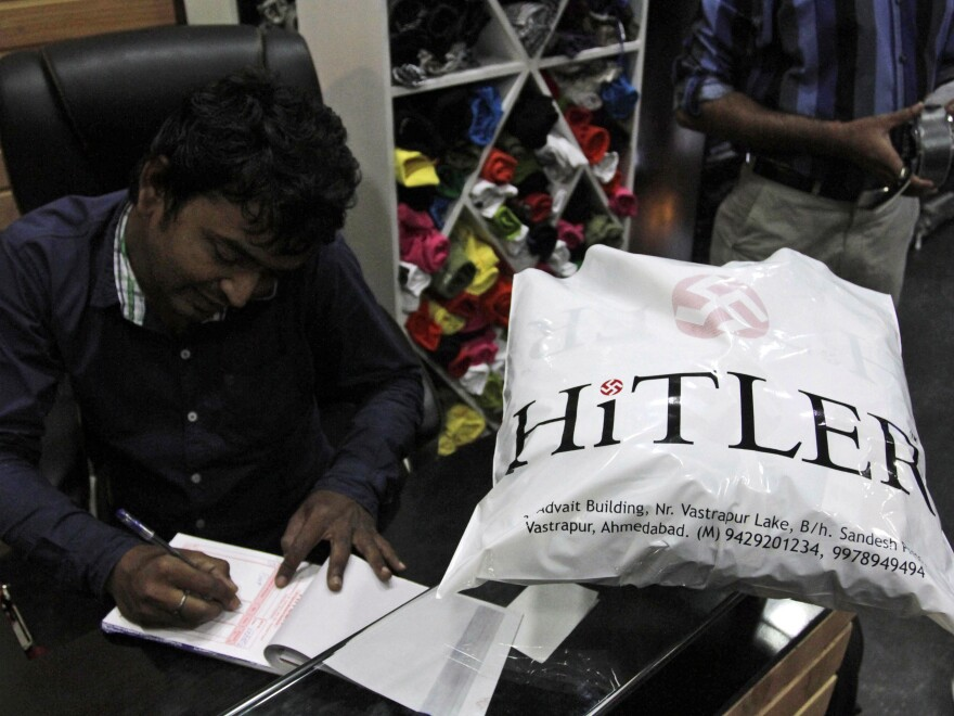 """""""We are popular because of the name,"""" Hitler co-owner Rajesh Shah said. """"Our customers were not upset about the name."""""""