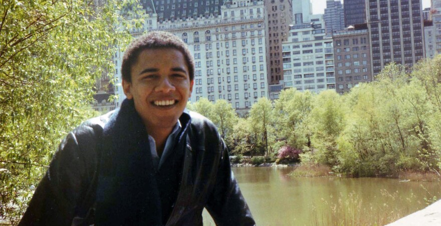 """A new biography of President Obama provides a rare glimpse of him as a young adult. In <em>Barack Obama: The Story</em>, journalist David Maraniss<em></em> chronicles the president's """"classic search for home."""""""