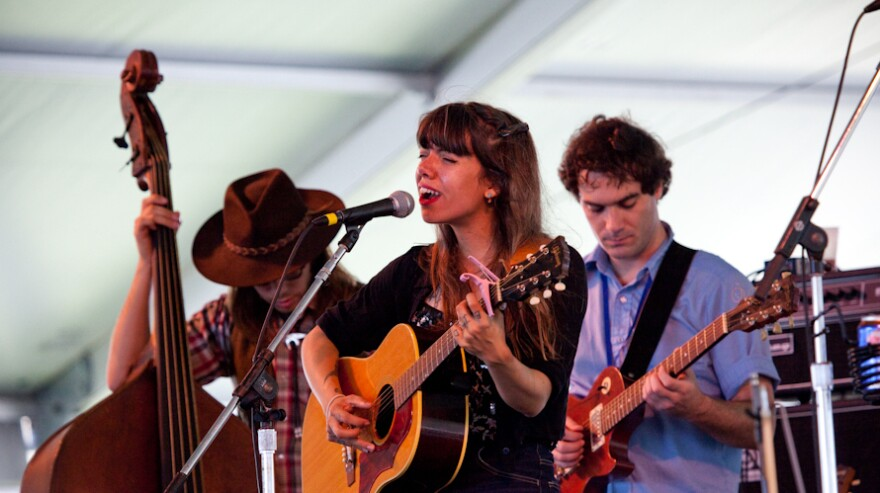 Hurray For The Riff Raff performed at the 2013 Newport Folk Festival — and makes a return engagement this year.