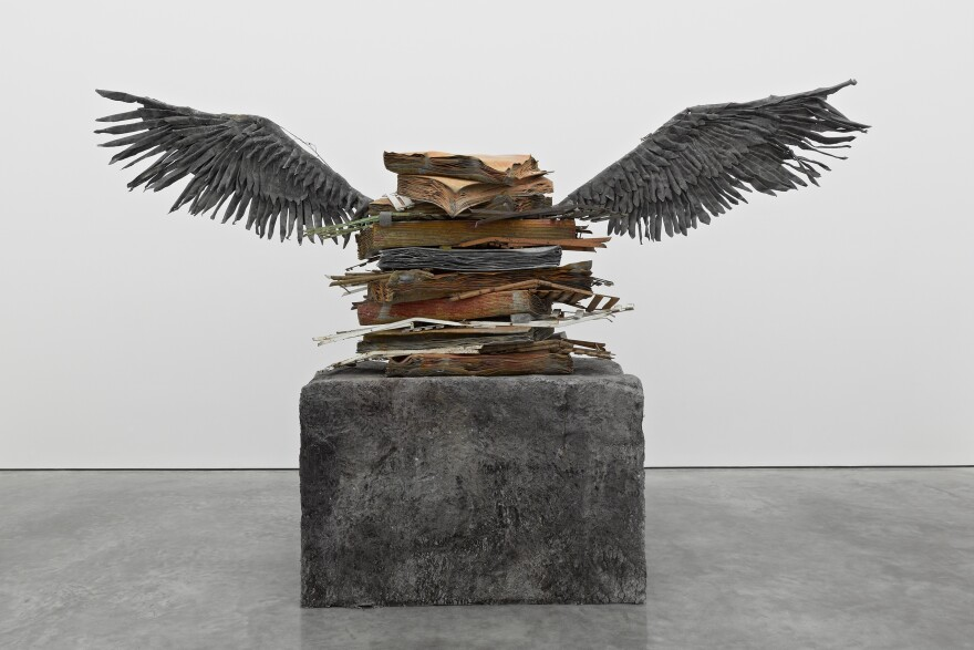 Anselm Kiefer's <em>Sprache der Vogel </em>belongs to one of Miami's best-known private collections.