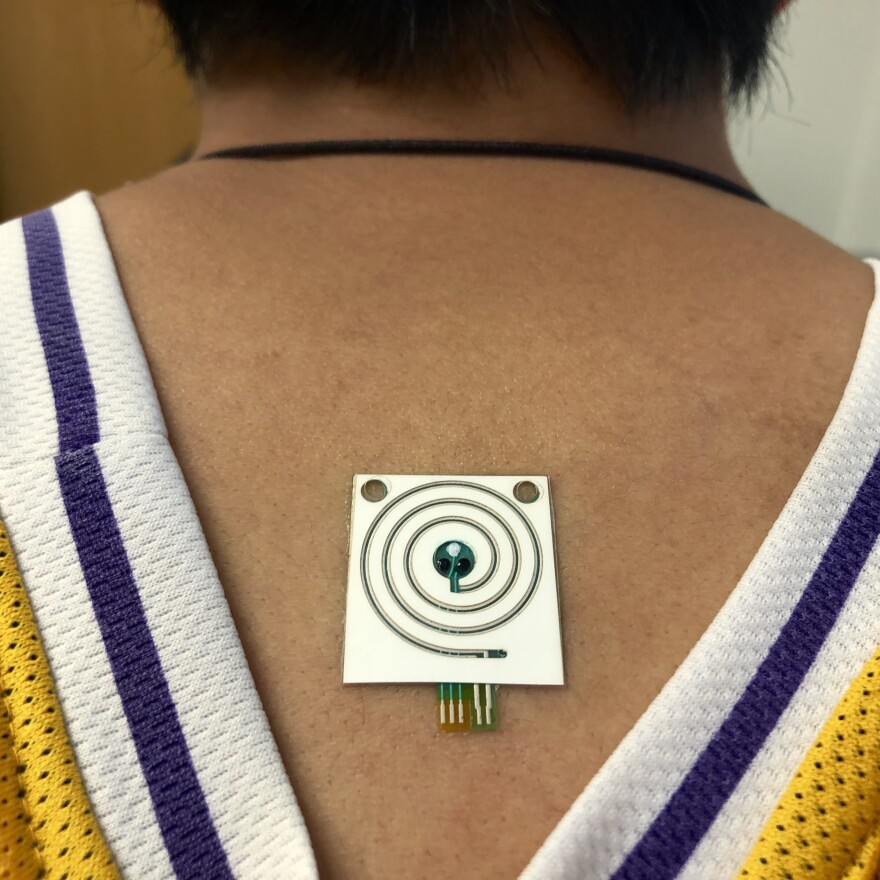 A sensor developed by scientists at U.C. Berkeley can provide real-time measurements of sweat rate and electrolytes in sweat.