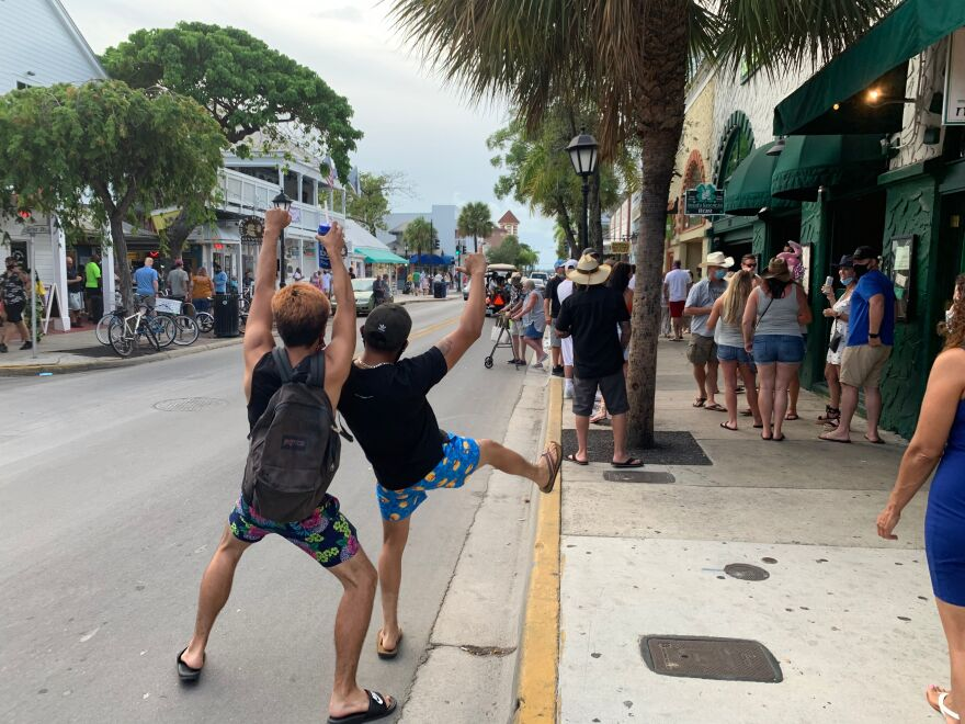 Despite COVID-19, tourists have continued to come to Key West and drink. Some say the pandemic is an opportunity to re-evaluate the island's hard-partying ways.