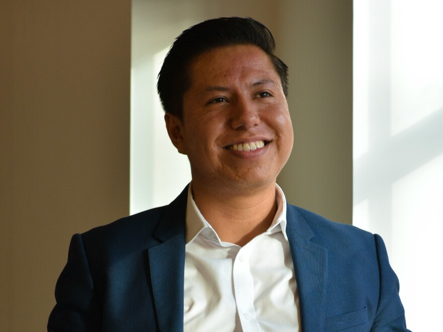 Mitchell Santos Toledo is one of 700,000 DACA recipients whose fate could be decided by the U.S. Supreme Court, which hears arguments on the Deferred Action for Childhood Arrivals program this week.