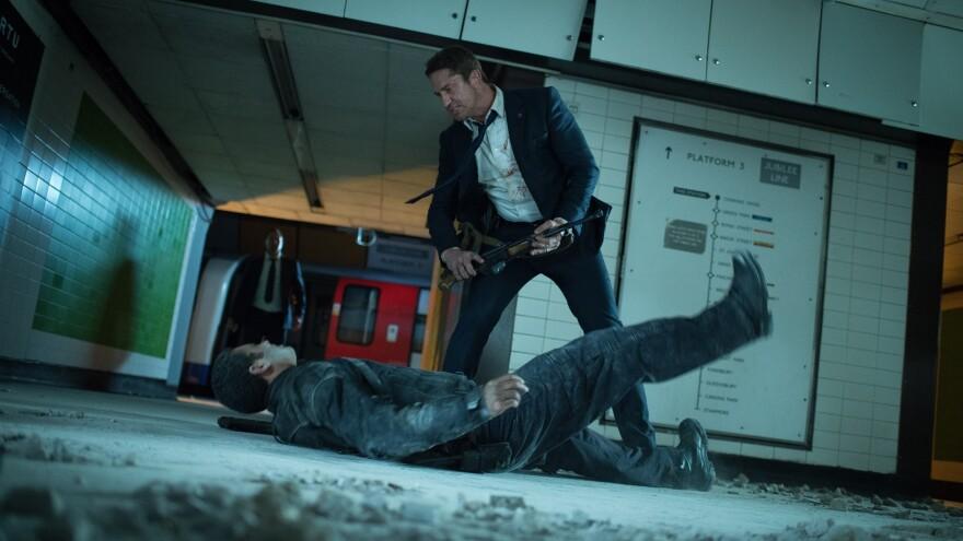 Gerard Butler stars as Mike Banning in <em>London Has Fallen</em>.
