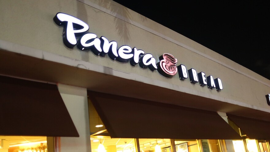 Panera Bread's website went down for part of Monday — eight months after the chain was warned that its site wasn't protecting sensitive customer data.