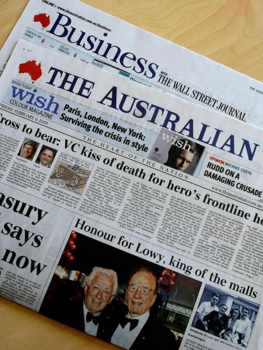 <em>The Australian</em> is the country's only general-interest daily, and it commands an unrivaled influence despite its modest circulation.
