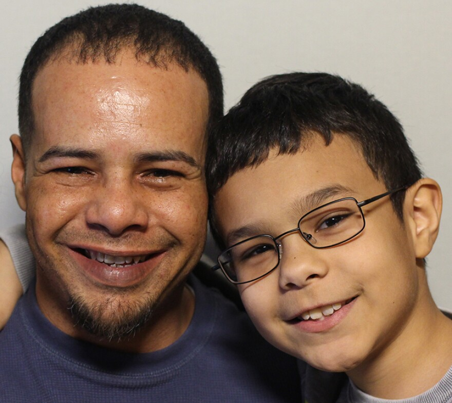 Ernesto and Sebastian Rodriguez, together on their recent visit with StoryCorps.