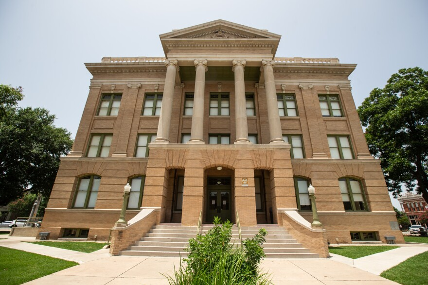 The Williamson County Courthouse in Georgetown