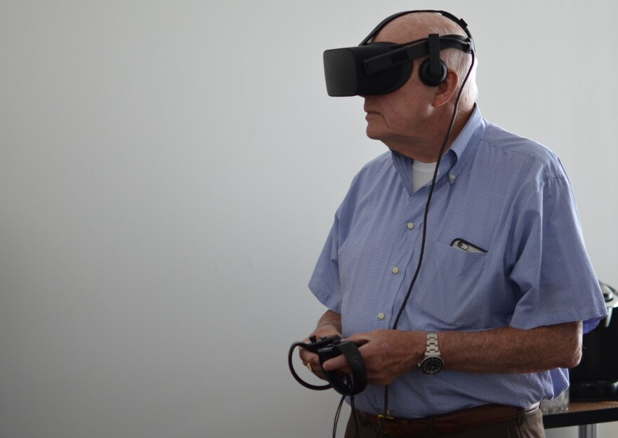 Virtual reality is here to stay.St. Louis on the Air discussed the technology trend on Monday's program. Host Don Marsh tried a VR headset on firsthand.