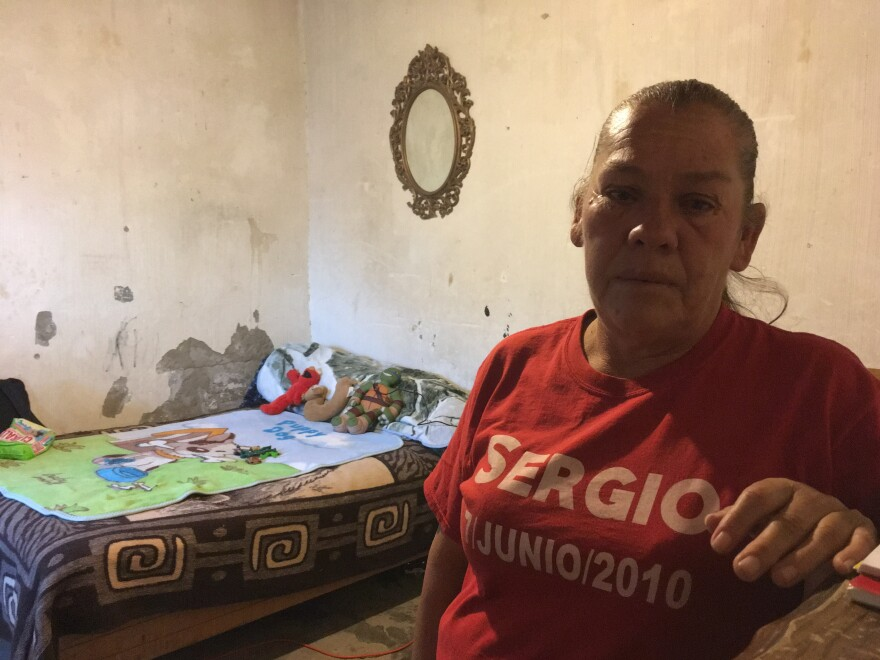 Maria Guadalupe Hernandez stands in the room of her son, Sergio, 15, who was killed in 2010 by a Border Patrol agent shooting from El Paso, Texas, across the river, into Juarez, Mexico. The agent believed the teenager was throwing rocks.