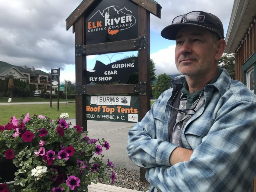Elk River Guiding Company owner Paul Samycia