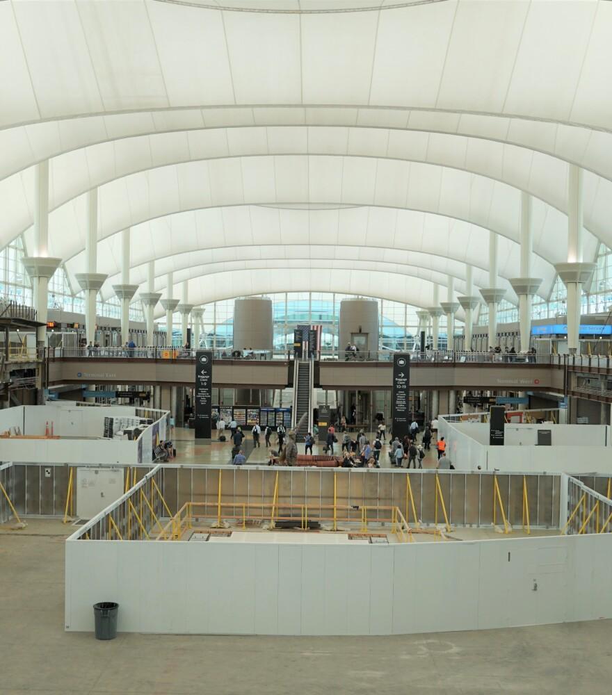 Halted 2 billion dollar construction project at Denver International Airport