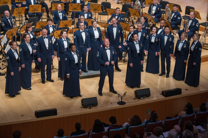 The Singing Sergeants, the official chorus of the U.S. Air Force