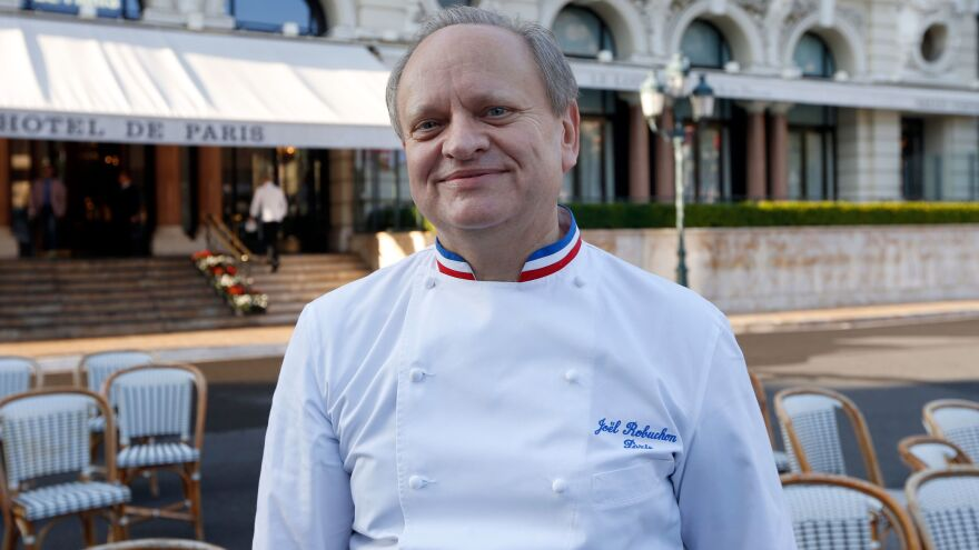 French chef Joël Robuchon has died at age 73, after an acclaimed career that saw him win more than 30 Michelin stars.