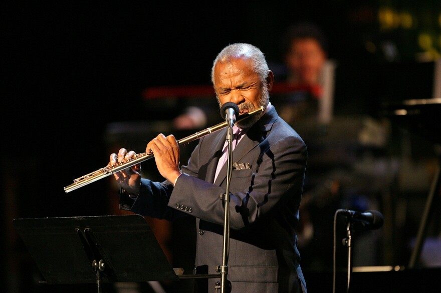 Flutist Hubert Laws is one of many jazz artists to have recorded an adaptation of themes from <em>The Rite of Spring</em>.